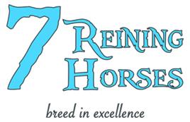 7 REINING HORSES